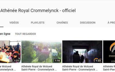 Ouverture de notre chaîne Youtube