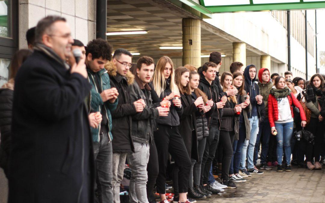 Hommage aux victimes des attentats du 22 mars 2016